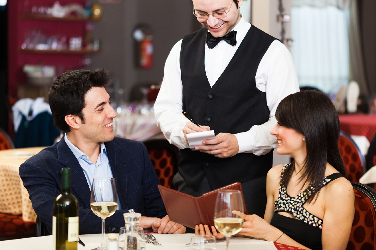 мужчина ресторан картинки подставки